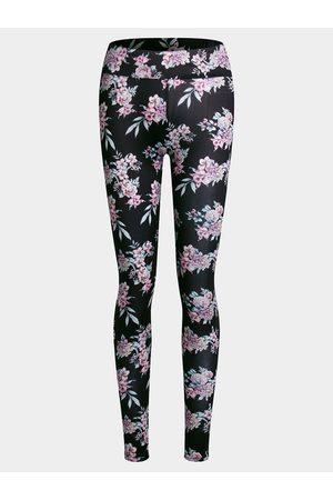 YOINS Active Random Floral Print Yoga Legging in
