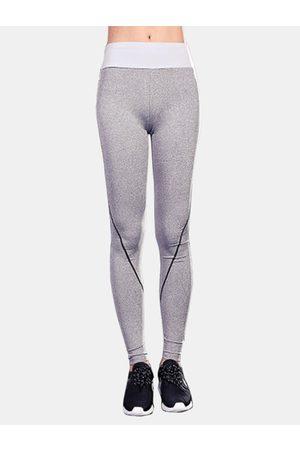 YOINS Women Leggings - Active Stitching Design Quick Drying Yoga Leggings in Light