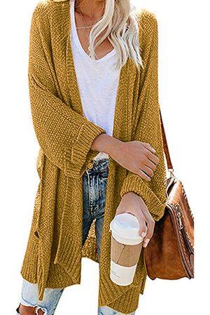 YOINS Split Design Long Sleeves Cardigan
