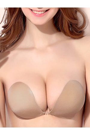 YOINS Nude Backless Strapless Ultimate Boost Bra With Breathable Fabric