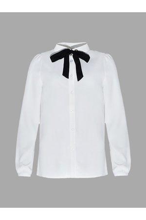 YOINS Tie Neck Shirt