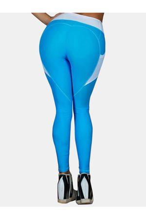 YOINS Active Contrast Color Gym Leggings in