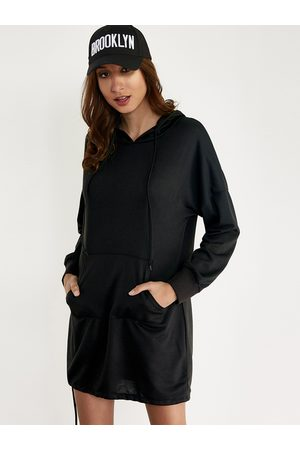YOINS Oversize Hoodie Mini Dress