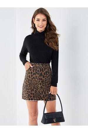 YOINS Women Long Sleeve - High Neck Long Sleeves Sweatshirt