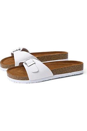 YOINS Women Slippers - Pin Buckle One Strap Slippers
