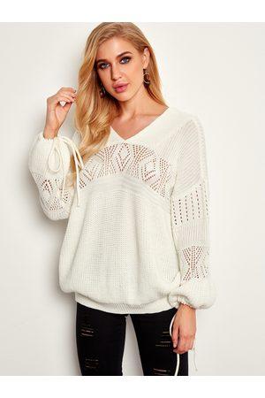 YOINS Women Jumpers - Backless Winter Fashion Women Sweaters