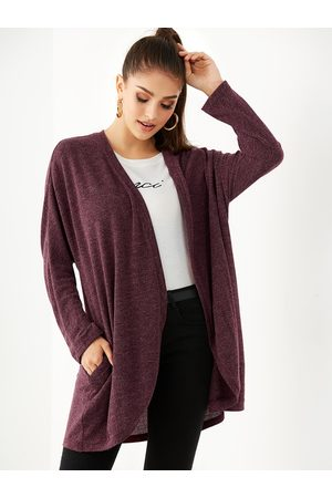 YOINS Side Pockets Long Sleeves Knit Cardigan