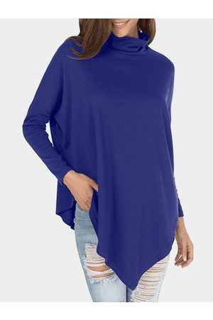 YOINS Roll Neck Long Sleeves T-shirt