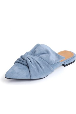YOINS Women Slippers - Point Toe Suede Slippers