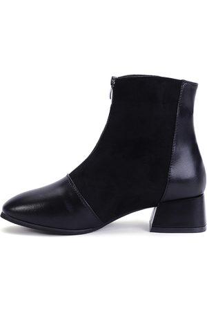 YOINS Zipper Design Boots