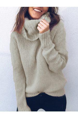YOINS Turtleneck Long Sleeves Sweater