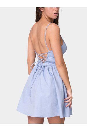 YOINS Open Back Cami Dress