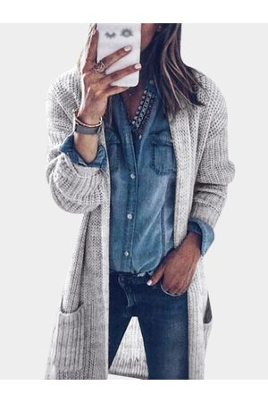 YOINS Cable Knit Long Sleeves Cardigans