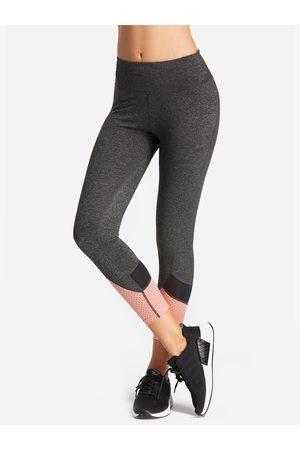 YOINS Mesh Splicing Fashion Women Legging