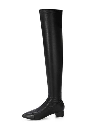 YOINS Leather-look Over The Knee Boots