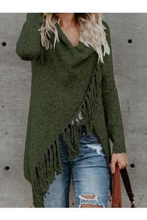 YOINS Details Long Sleeves Knit Sweater