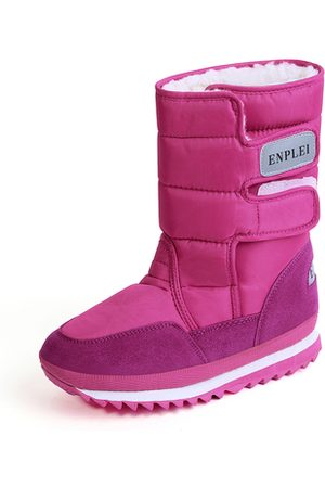 YOINS Rose Antiskid Waterproof Warm Boots