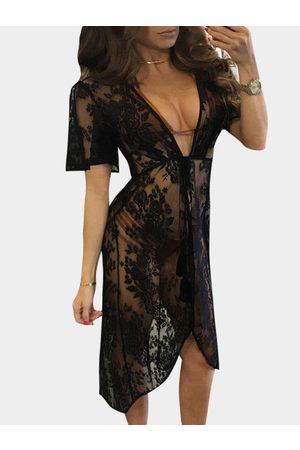 YOINS Sheer Lace Kimonos in