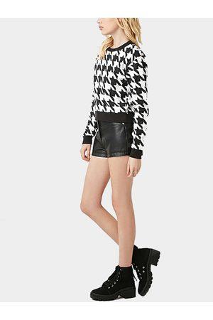 YOINS Houndstooth Sweatshirt