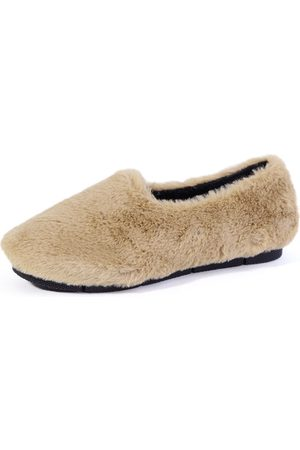YOINS Slip-on Faux Fur Casual Shoes