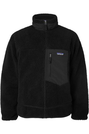 Patagonia Men Fleece Jackets - Classic Retro-X Shell-Trimmed Fleece Jacket