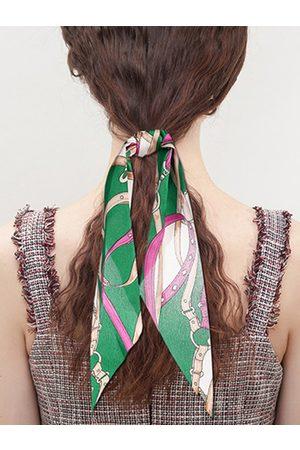 YOINS Women Hair Accessories - Scarf print Elastic Hair Ring