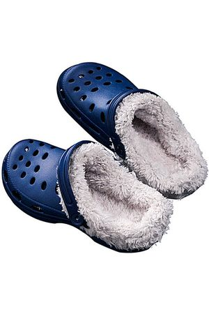 YOINS Dark Clog Winter Antiskid Warm Indoor Casual House Slippers