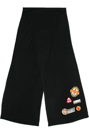 Dsquared2 Multi-patch knitted scarf