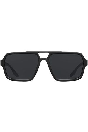 Prada Men Sunglasses - Linea Rossa oversized-frame sunglasses