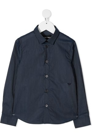 Emporio Armani Striped cotton shirt