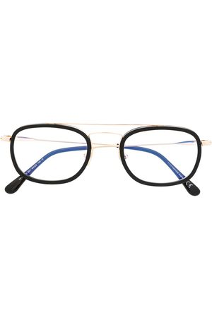 Tom Ford Blue Block square frame glasses