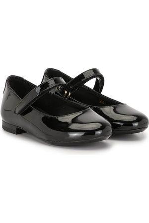 Dolce & Gabbana Varnished ballerina shoes
