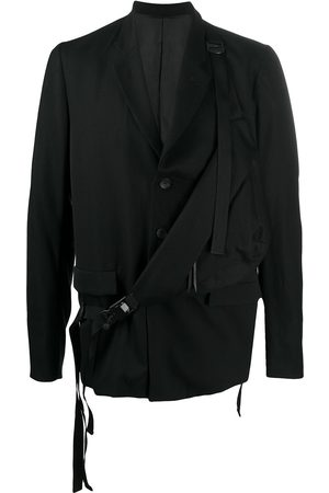 THE VIRIDI-ANNE Long-sleeved panelled blazer