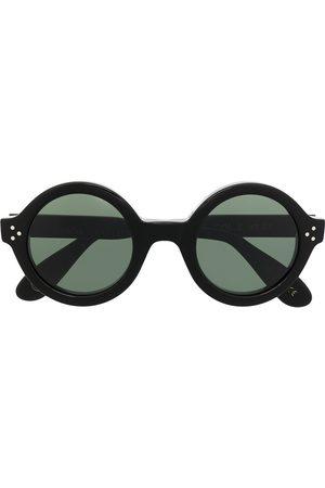 LESCA Men Sunglasses - Phil round frame sunglasses