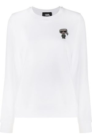Karl Lagerfeld Karl-embroidered sweatshirt