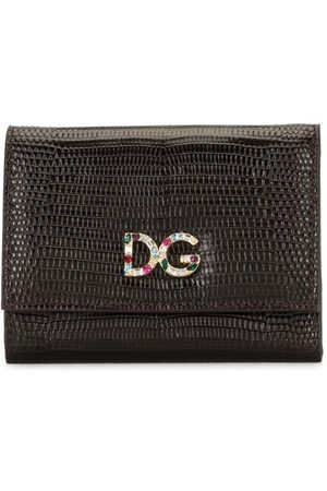Dolce & Gabbana French flap logo wallet