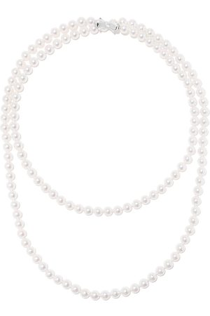 Tasaki 18kt Akoya pearl long necklace