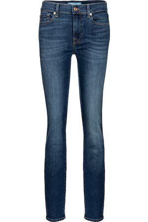 7 for all Mankind Roxanne mid-rise slim jeans