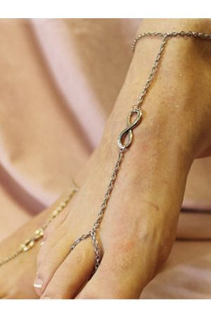 YOINS Fashion 8 Figure Decoration Chain Anklet