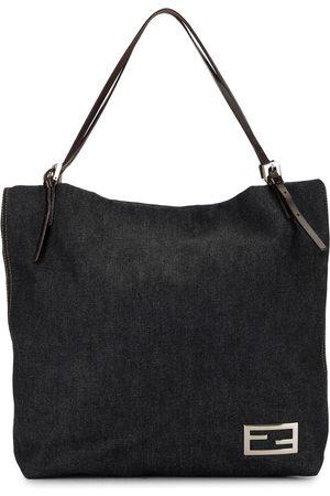 Fendi Pre-Owned FF buckle tote bag