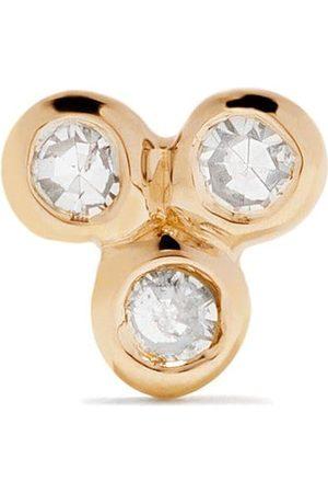 Maria Black 14kt yellow Triad diamond stud