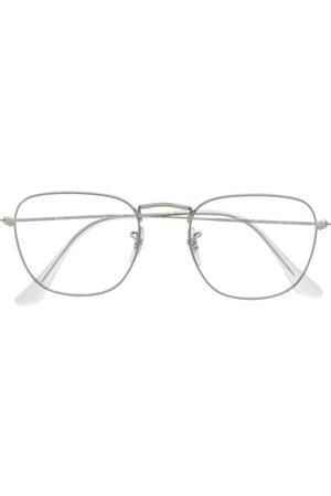 Ray-Ban Silver wireframe glasses