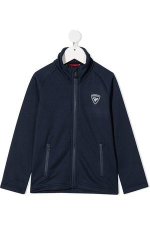 Rossignol Logo patch zipped jacket