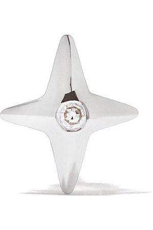 Maria Black 14kt white gold Star diamond stud