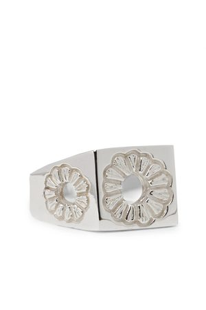 Bleue Burnham Marigold Sterling Signet Ring
