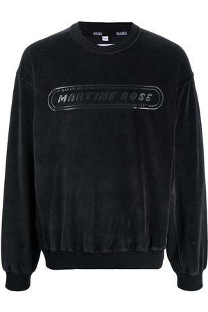 NAPA Logo print fleece sweatshirt