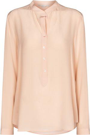 Stella McCartney Eva silk crêpe de chine shirt