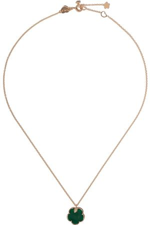 Pasquale Bruni 18kt rose gold Bon Ton green agate and diamond necklace