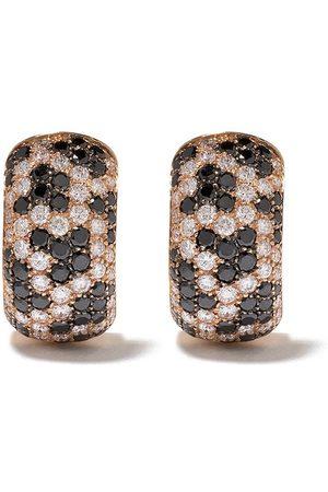 LEO PIZZO 18kt rose gold Leopard diamond earrings