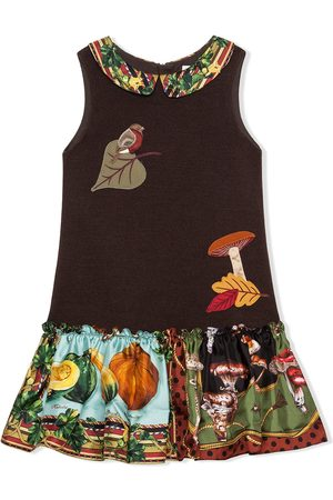 Dolce & Gabbana Autumn appliqué dress